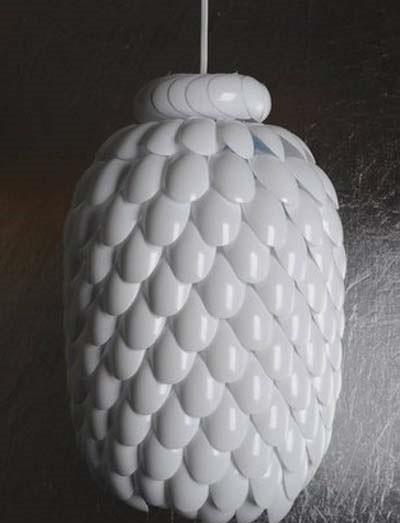 Пластиковая люстра