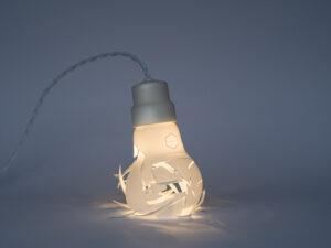 Взрывается лампочка