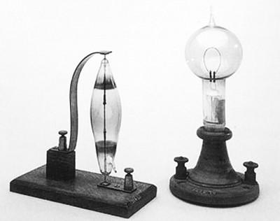 Первые лампочки