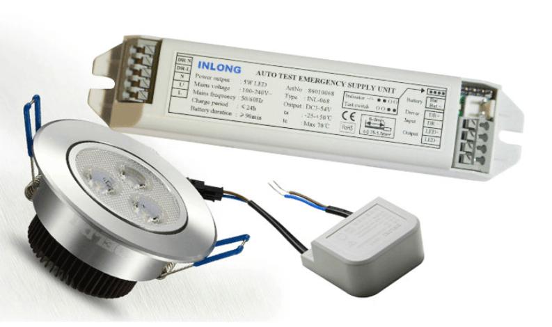 Особенности и характеристики блока аварийного питания для светодиодных светильников