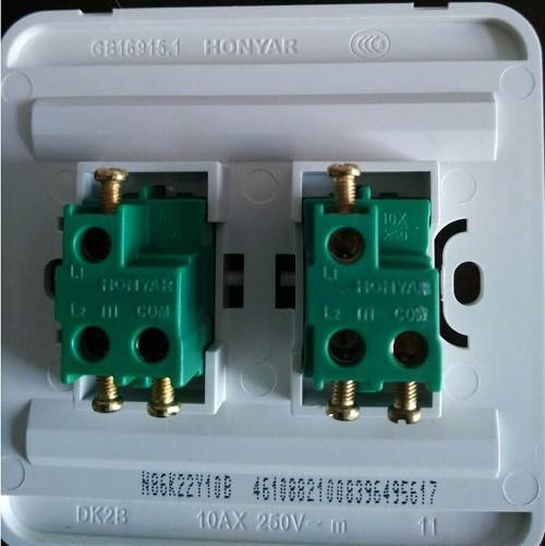 Как правильно установить и подключить двойной выключатель на две лампочки