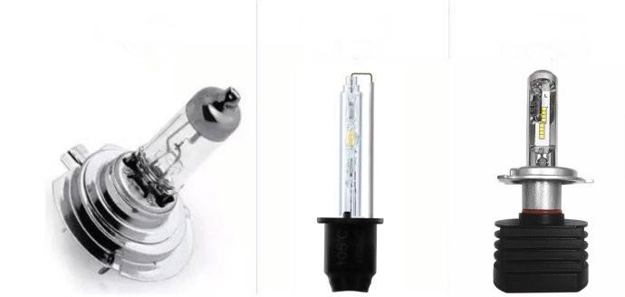 Законность и способы установки светодиодных ламп в фары автомобиля