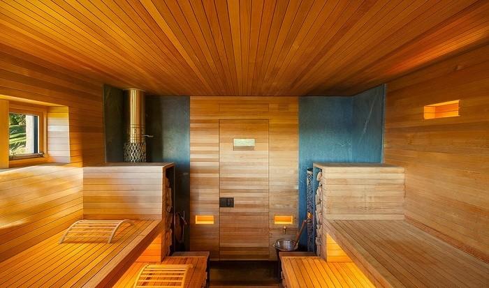 Как своими руками сделать освещение в бане или сауне