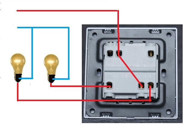 Как нужно правильно подключать лампочку к электросети через выключатель