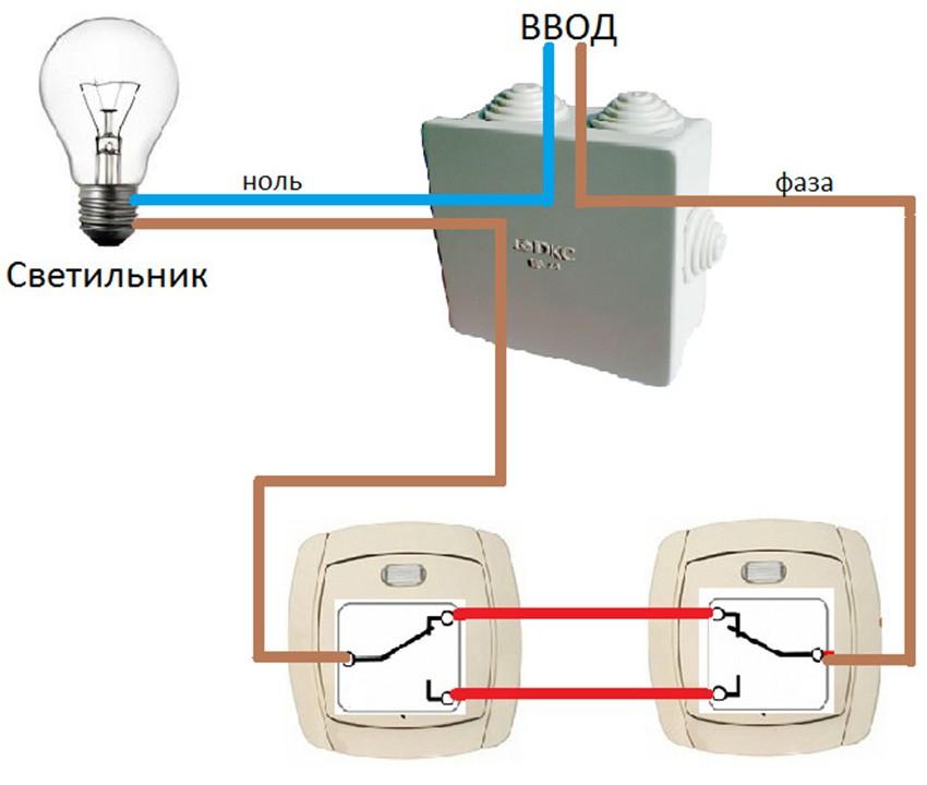 Подключение выключателя с подсветкой клавиш своими руками
