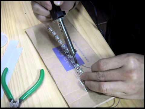 Как выпаять светодиод из светодиодной лампы