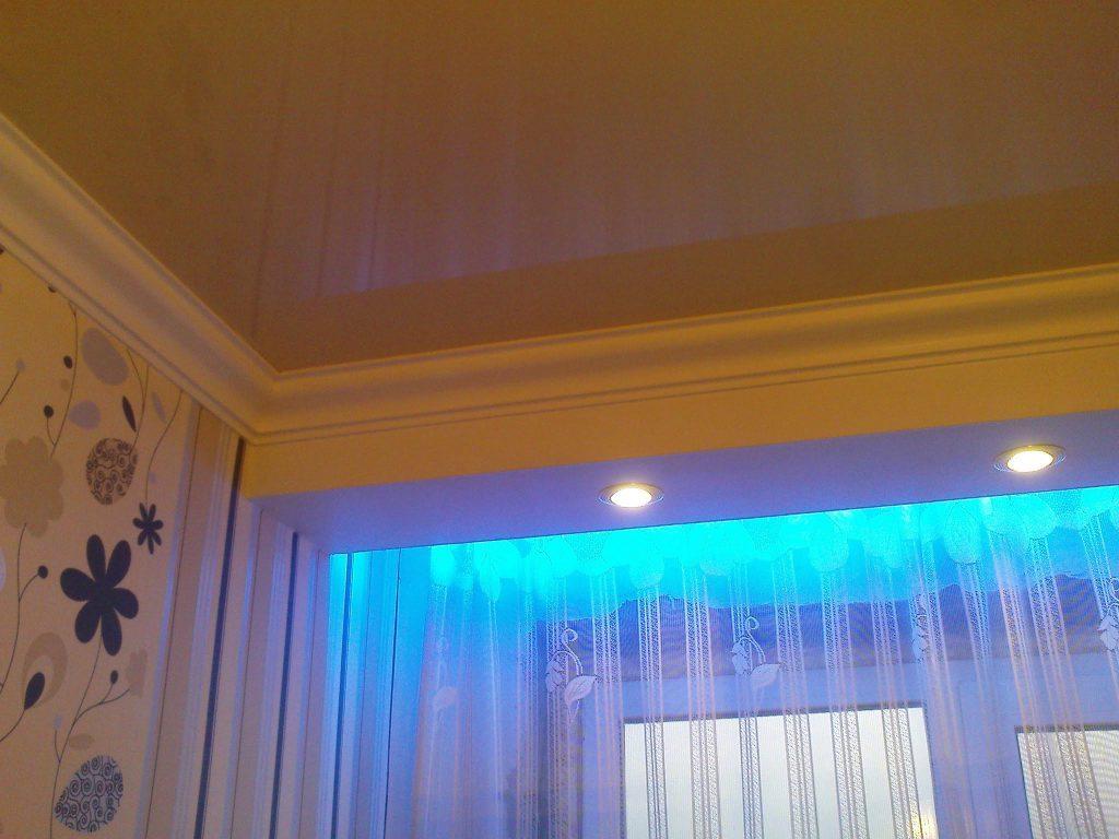 Монтаж и установка светодиодной подсветки для штор своими руками