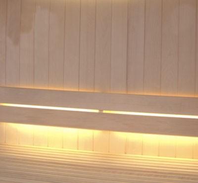 Освещение светодиодной летной для сауны