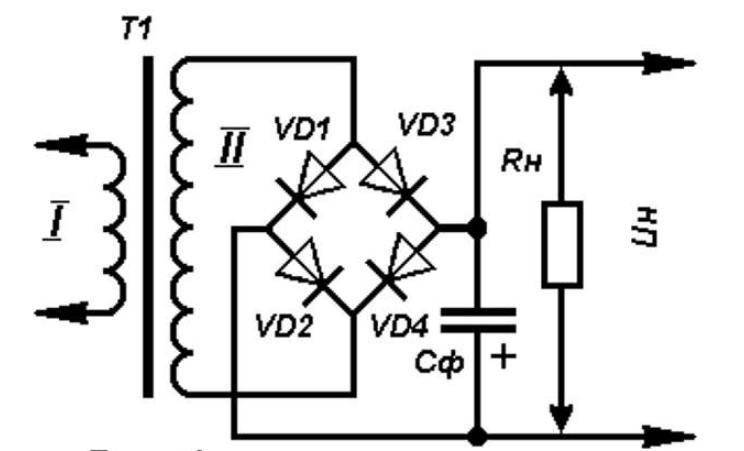 Назначение и схема блока питания для светодиодной ленты 12 В
